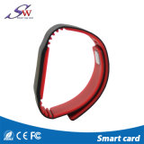 Wristband Ntag203 Ntag213 Natg215 del silicone di HF Keychain RFID di abitudine