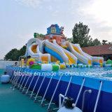 precio de fábrica de China Mobile inflables parque acuático de diversiones