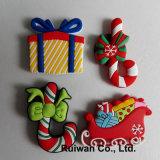 Christmas all'ingrosso Decoration 3D Rubber Fridge Magnet