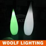 LED de color mágico de alimentación de energía de agua decorativo gotas regalo lámpara