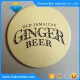 Cartón de papel plastificado personalizadas Posavasos de cerveza