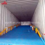 10 Tonnen-bewegliche hydraulische Stahleingabe-Yard-Hochleistungsrampe für Verkauf