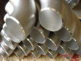 A soldadura de extremidade do aço inoxidável TP304 soldou 90 graus LR cotovelo de 18 polegadas