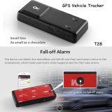 강한 자석 및 3m 접착제를 가진 차 GPS 추적자 T28