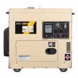 tipo silenzioso portatile gruppo elettrogeno di singolo del cilindro 7kw inizio elettrico raffreddato aria di monofase diesel