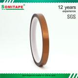 Fita dourada do animal de estimação de Somitape Sh35081/fita adesiva para elétrico, automotriz, diodo emissor de luz animal de estimação resistente ao calor