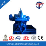 Pompa di innesco centrifuga di rivestimento lungo un asse spaccata di aspirazione doppia
