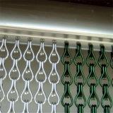 Nieuwe Heet verkoopt het Gordijn van het Netwerk van de Link van de Ketting van het Metaal van het Aluminium