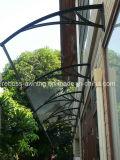 Sombrilla del toldo del policarbonato/abrigo del pabellón para las puertas de Windows& (pabellón de la serie de D)