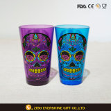 Taza de cristal coloreada aduana 480ml de la pinta