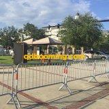 Пешеходная загородка стали металла барьера управлением толпы барьера