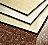 Anti-Slip супер белая Polished плитка пола 3D с размером 2
