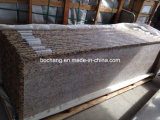 Garniture de granit Giallo Fiorito pour comptoir en granit