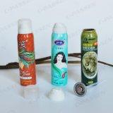Moldear el cabello de aluminio de latas de aerosol Spray con la impresión Offset (PPC-AAC-002).
