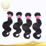 Aaaaaaaaボディ波の人間の毛髪の拡張加工されていない卸し売りバージンのインド人の毛