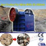 Macchina d'estrazione che schiaccia la pietra della macchina/il frantoio a mascella minerale metallifero del carbone