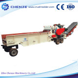 全木のための高品質の競争価格の大きい容量の移動式木製の砕木機