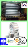 Appuyer la bande à revers adhésif sensible de papier d'aluminium