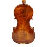 단 하나 뒤 바이올린 4/4의 직업적인 Handmade 유화