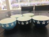 Tigela de cerâmica, porcelana barata Taça de salada, Taça de sopa de cerâmica de novo osso China