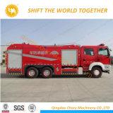 6X4 HOWO DG/Rhd 20000litre réservoir Water-Foam camion de lutte contre les incendies