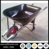 Курган колеса тачки вагонетки тележки инструмента сада Wb6601 резиновый