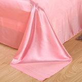 安いサテンの絹の羽毛布団カバー