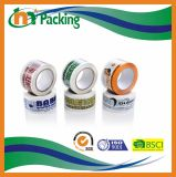 Nastro libero dell'imballaggio di alta qualità BOPP con stampa di marchio