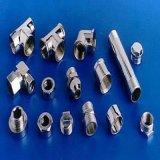 Conetor transversal sanitário do encaixe de tubulação do aço inoxidável (carcaça da precisão)