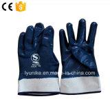 Подкрылок хлопка Джерси нитриловые перчатки с покрытием
