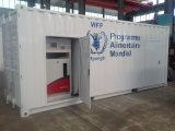 Stazione messa in recipienti della pompa della benzina del materiale da otturazione mobile della benzina