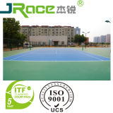 Itf Certificado Silicio PU Outdoor Basketball Sport Courts Surfacer