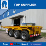 Titan-Fahrzeug - 20FT Behälter-Schlussteil-Skelett-Sattelschlepper