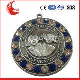 銅メダルを押すカスタムロゴ