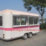 ステンレス鋼の移動式ホットドッグのトレーラーの電気食糧譲歩のトレーラー