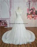 Платье венчания шнурка втулки крышки самое последнее