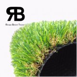 moquette artificiale sintetica dell'erba della decorazione Anti-UV di paesaggio di 20-35mm per il giardino
