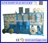 Vertical solo tipo y / doble capa de cable de cinta de embalaje de la máquina