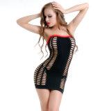 Оптовая торговля плюс размер Fishnet и кружевной женщин Sexy Bodystocking