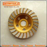 Stone Concrete Diamond Disc Turbo Cup Grinding Wheel