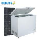 Hot la vente de nouveau produit réfrigérateur congélateur solaire 12V en position verticale d'un réfrigérateur solaire 24V DC Réfrigérateurs et congélateurs