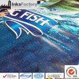 PVCのペット、ABS、BOPP、PPのPE、アクリル、プラスチックのためのシルクスクリーンの紫外線インク