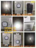 2018 Producto Nuevo Modelo de la serie 3G 80W en una sola calle la luz solar con 3030 chips LED 160 lúmenes