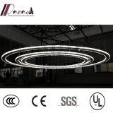 Het Licht van de Tegenhanger van Chanderlier van het Kristal van de Lamp van het project K9