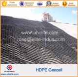(50mm-300mm de altura) de plástico HDPE Geocell muro de contención