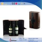 Contenitore di cuoio di vino dell'unità di elaborazione delle due bottiglie (2134R5)