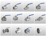 Vávula de bola manual 3PC del precio de fábrica para la industria
