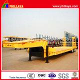 3-Axles resistente 60 tonnellate di Gooseneck di Lowbed di rimorchio semi