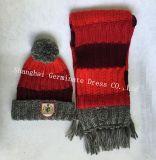 Шлем & шарф способа теплые с Pompom (JYB334)
