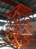 O elevador 3000kg hidráulico do carro do estacionamento scissor a plataforma do carro com CE